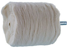Burr - Polishing, Cylinder Shape, Large Cloth, 1/4in. Shank