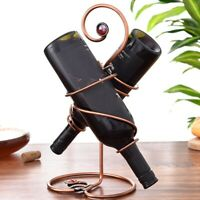 1 PCS European Style Simple Wine Bottle Rack Wine Rack Home Furnishing Wine N2I3