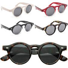 Vtg 1920s 30s 40s Style Sunglasses Mens Womens Retro Round Lens Fashion