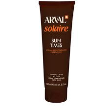 ABBRONZANTE ARVAL SUN TIMES SOLAIRE ABBRONZANTE FILTRO ZERO - 150 ml