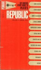Study Guide To Plato's Republic(Paperback Book)Key-Indexed-Bantam-US-Acceptable