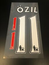 MESUT OZIL NAME SET #11 ARSENAL PREMIER LEAGUE 2013-2018
