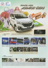 Toyota Avanza MPV car (made in Indonesia) _2018 Prospekt / Brochure