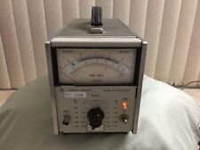 HP/Hewlett Packard 400EL AC Volmeter Fariion 1594