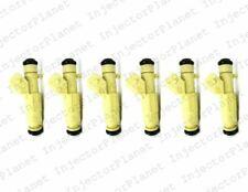 Setof 6 Bosch 0280156053 Fuel Injector 2002 2006 Porsche 911 Boxter 3.6 3.2 2.7