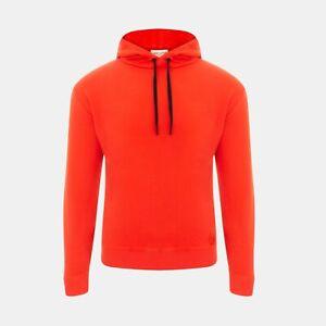 Saint Laurent Paris Slim Fit Hoodie In Red RRP £475 *SOLD OUT WORLDWIDE🌍*