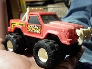 Vintage Buddy L CRASH EM-UPS Crushable friction Toy Truck RARE