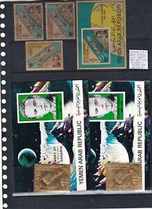 0101  Yemen  1968  MNH Nice lot of stamps see scan