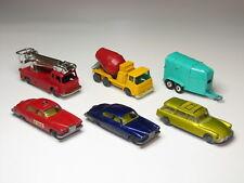 Husky lot - Horsebox, Fire Engine, Citroen Safari, Jaguar MK10, Cement Mixer, VG