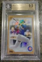 Anthony Rizzo 2017 Topps Transcendent Collection Wood & Silver Frame /87 BGS 9.5