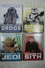 STAR WARS by Disney 4 hardcover book set DK Publishing 2015 NEW