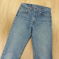 vtg usa LEVIs 505 fit jeans 31 x 31 (32 x 32 tag) fade distressed grunge 80s 90s