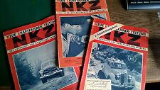 11 x NKZ - Fachblatt des Kraftfahr Praktikers 1951