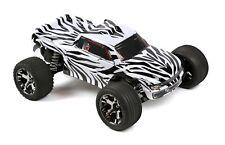 Custom Body Zebra Style for Traxxas 1/10 Rustler / Stampede Truck Shell Cover