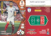 WC RUSSIA 2018 *Panini Adrenalyn-Card FANS' FAVOURITE  N.371*CAHILL-INGHILTERRA