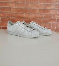 ad7e68789b9 WOMENS ADIDAS SUPERSTAR TRIPLE WHITE 3 STRIPE TRAINERS SNEAKERS UK 3.5 EU 36