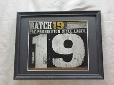 COORS BATCH 19 LAGER BEER SIGN  #1283