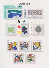 XC94729 Germany 1998 mixed thematics fine lot MNH