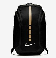 Nike Hoops Elite Pro Basketball Backpack - Black/Metallic Gold (BA5554-010)