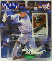 2000  KEN GRIFFEY JR. - Starting Lineup - SLU - Sports Figure - SEATTLE MARINERS