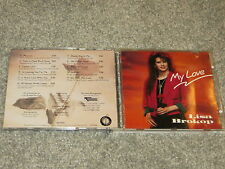 LISA BROKOP - My Love CD RARE OOP 1991 DEBUT Libre Records VG