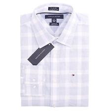 Tommy Hilfiger Men Long Sleeve Custom Fit Button Down Plaid Shirt - $0 Free Ship