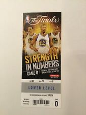 Gm 5 2015 NBA FINALS LEBRON JAMES 40 PTS Stephen Curry 37 PTS Ticket Warriors