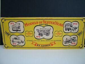 MATCHBOX MODELS OF YESTERYEAR G-7 - 1960 GIFT SET -