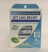Boiron Jet Lag Relief 240 Pellets only 3 Tubes New