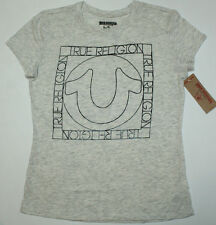 True Religion Brand Jeans Horseshoe Logo T-Shirt Women's Size Large  SALE!