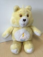 "Vintage Hand made Yellow Care Bear Tenderheart 16"" Birthday Cake"