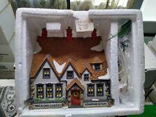 Department 56: Heritage Village: Wackford Squeers Boarding School w/ Box!