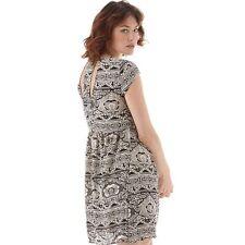 Only Womens - Nova Lux Mono Short Sleeve Dress Cloud Dancer. Size 12. NEW.