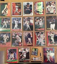 MO VAUGHN 19 Baseball Card Lot BOSTON RED SOX NM/M Condition Includes Rookie L4