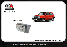 Fanale anteriore Fiat Panda 750 dal 1986 al 2003 manuale faro lato sinistro