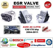 FOR AUDI A6 2.0TDi 136/170 bhp 2004-2011 Electric EGR VALVE 5-PIN OVAL PLUG