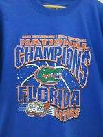 Florida Gators 2006 Final Four Champions NCAA Basketball Mens T Shirt Size XL