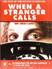 WHEN A STRANGER CALLS - BETTER THAN SCREAM - NEW DVD - FREE LOCAL POST