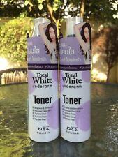 2 x Malissa Kiss Total White Underarm Toner  60  ml