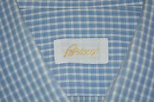 $675 Brioni Cotton Dress Shirt 17.5 35 ITALY