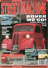 Street Machine June 1996 Under New Management issue New Old Stock