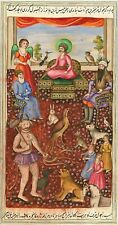 Hindu Art Shiva Parvati Chaupar 1695 7x5 Inch Print
