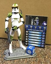 Star Wars Clone Trooper Captain Lock Figure K-Mart Exclusive Complete
