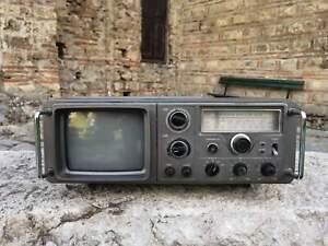 Nippon FS-921 vintage tv-radio-cassette recorder