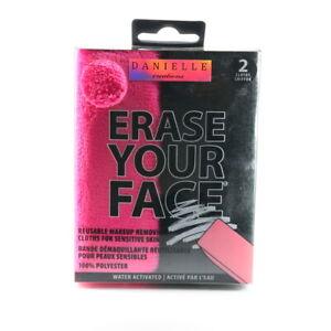 Danielle Creations Erase Your Face Reusable Makeup Removing Cloth Towel