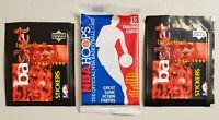 Upper Deck & Hoops Basketball Lot of 3 (Three) New Unopened Sealed Packs**