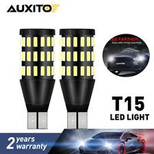 2X CANBUS T15 LED Backup Reverse Light Bulb 6500K 3000LM 921 912 W16w Error Free