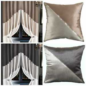 Designer Silk HAVELI Fully Lined Ready Made FAUX SILK Eyelet Ring Top Curtain