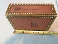 Vintage Wood Havana Blend Colorado Maduro Cigar Box ~ Decorator