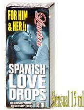afrodisiaco per uomo e donna gocce sensuali massima eccitazione spanish love